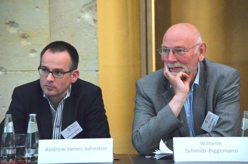 Prof. Dr. Andrew James Johnston / Prof. Dr. Wilhelm Schmidt-Biggemann