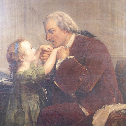 Jacob Rodrigue Péreire teaches a deaf child