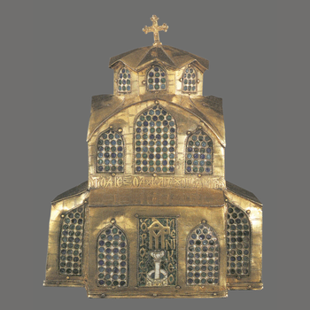 Church-Shaped Casket from the Prodromos Monastery, Serres (1613).
